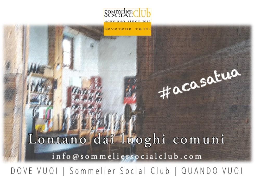 Sommelier a Domicilio, Sommelier Social Club