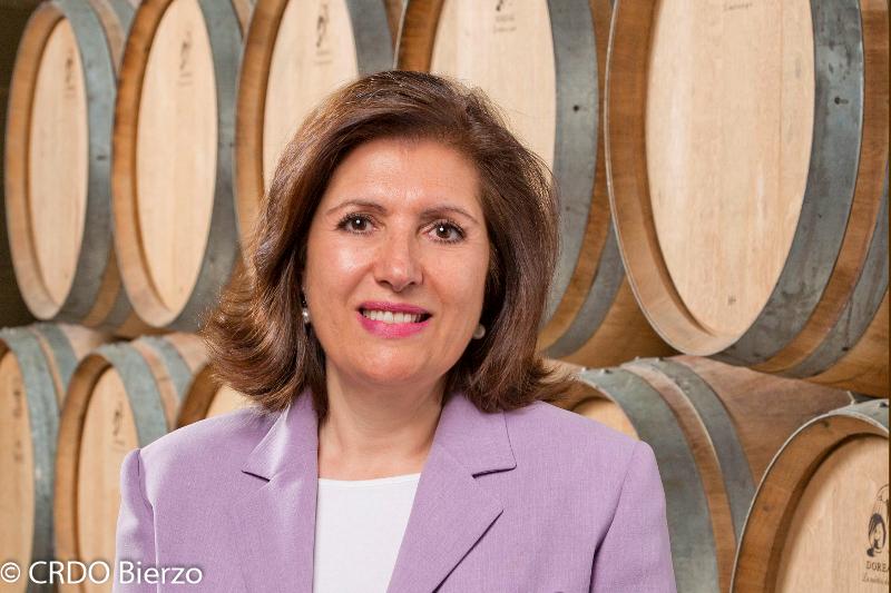 Misericordia Bello, présidente du CRDO Bierzo