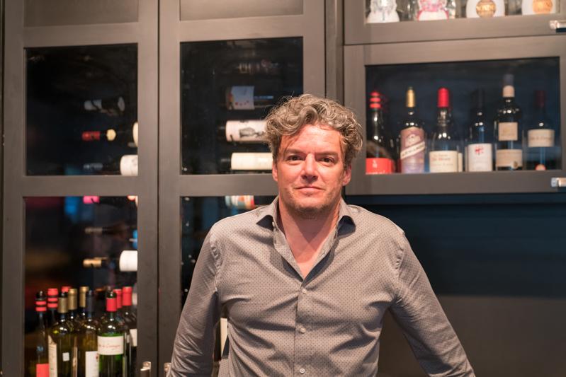 Robert Herrera, co-propriétaire du restaurant Les Cavistes