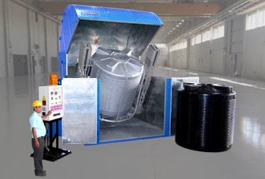 Clamshell – Single Station Bi-Axial Machines