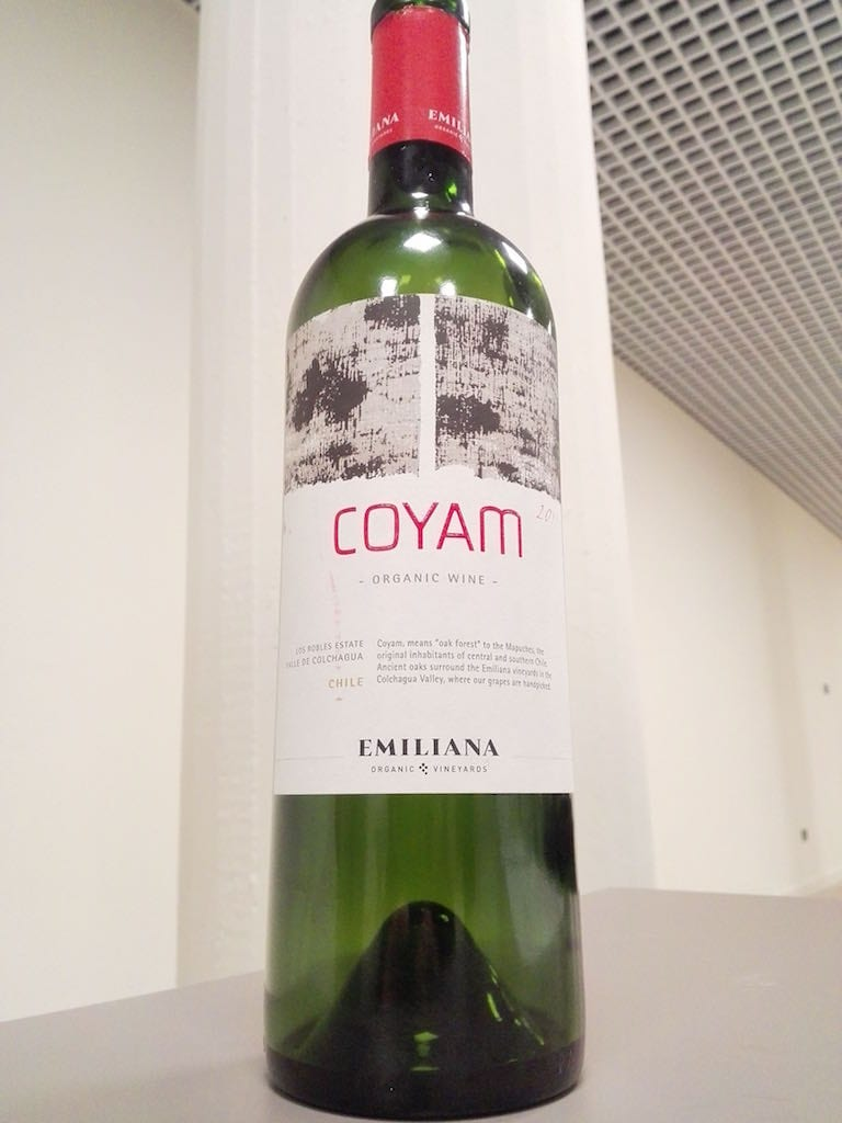 Emiliana Coyam 2011 Organic wine