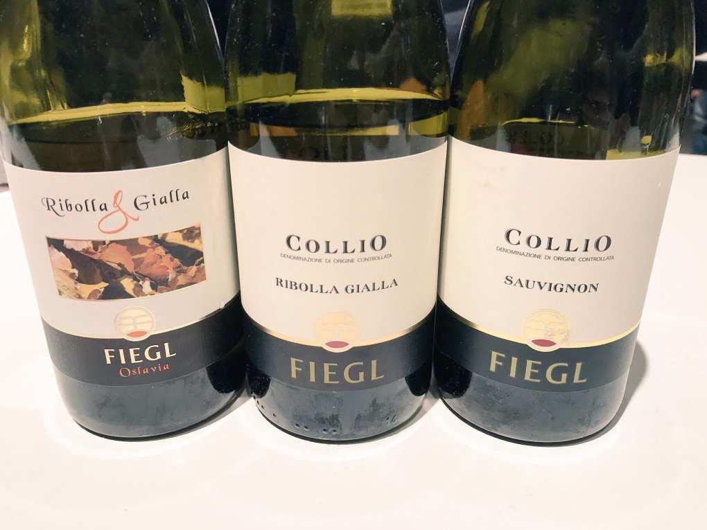 Fiegl vini a Vinoè 2016