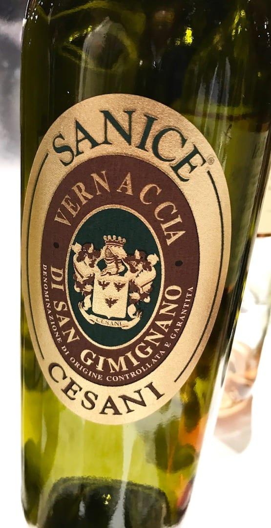 Cesani Vernaccia di San Gimignano a Vinoè 2016