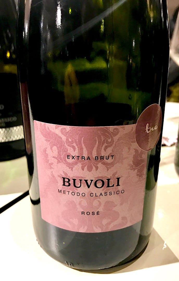 Bollicine di Opificio del Pinot Nero Buvoli Rosè