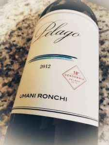 Umani Ronchi Pelago Igt 2012