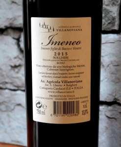 Villanoviana Bolgheri Doc Imeneo 2015