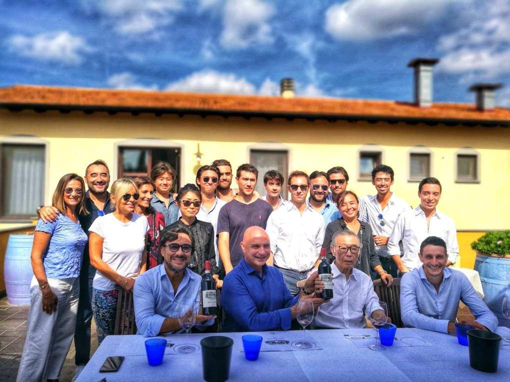 La famiglia Bulichella per il Montecristo 2015