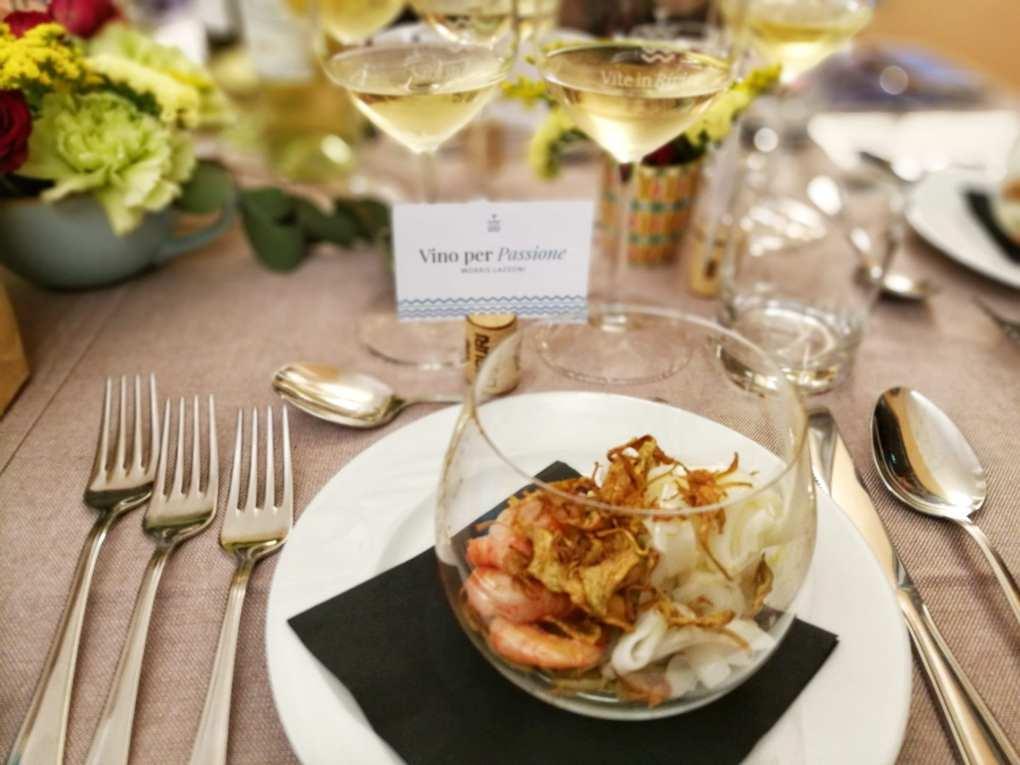 Antipasto Cena Vite in Riviera con Chef Vivalda