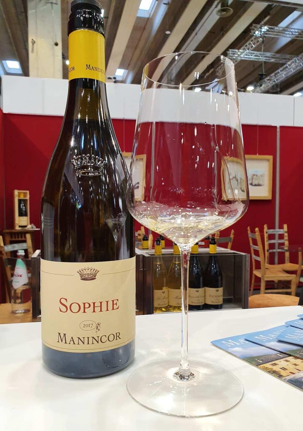 Manincor Sophie 2017 al Vinitaly 2019