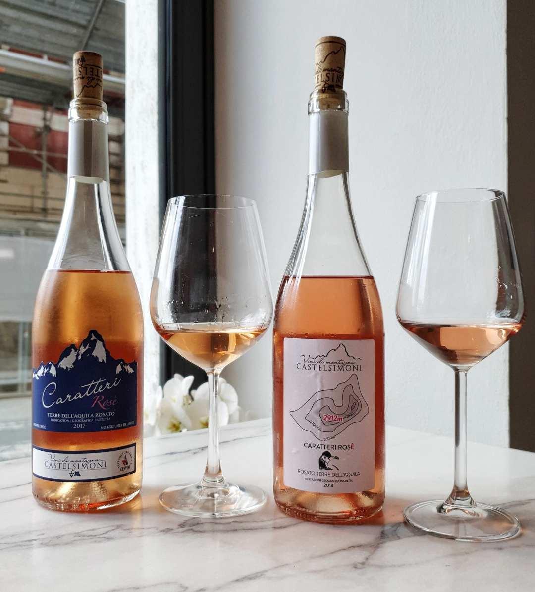 Caratteri Rosè, il vino rosato di Castelsimoni