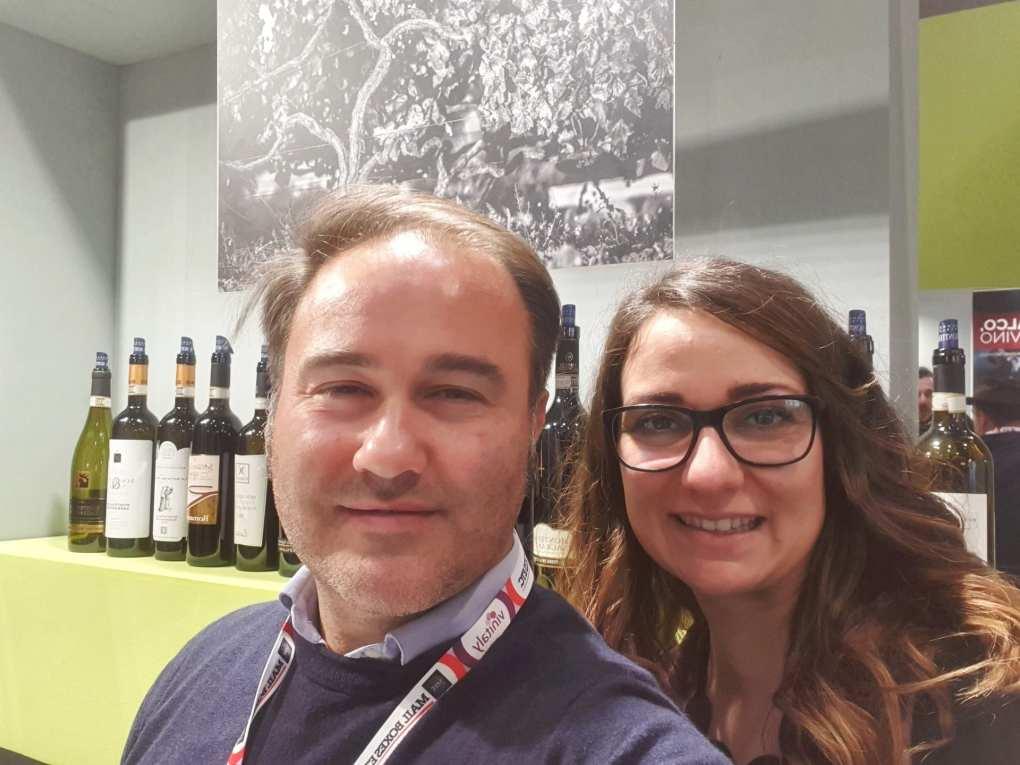 Il selfie a base di Sagrantino di Montefalco con VinoperPassione