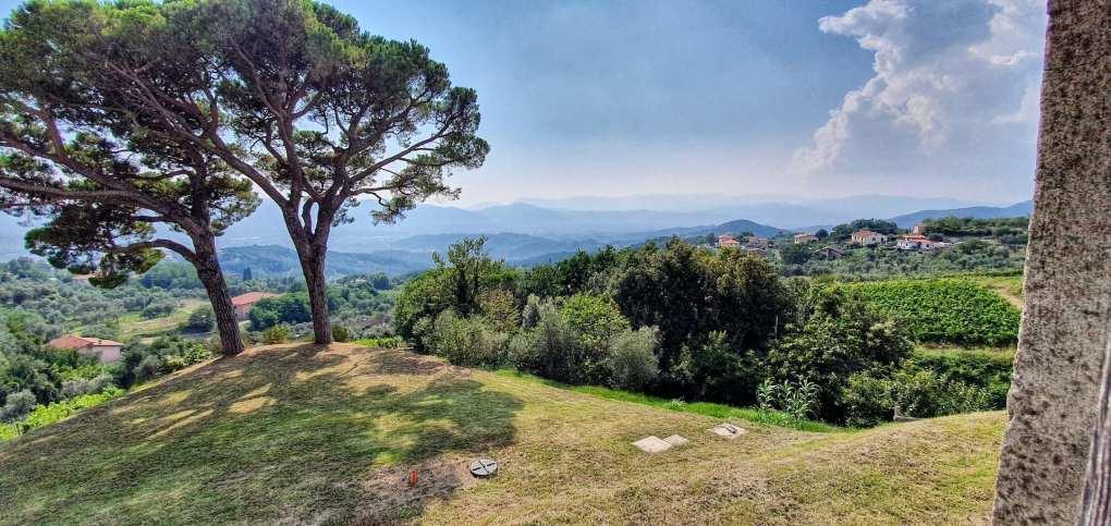 Panorama dalla cantina Terenzuola