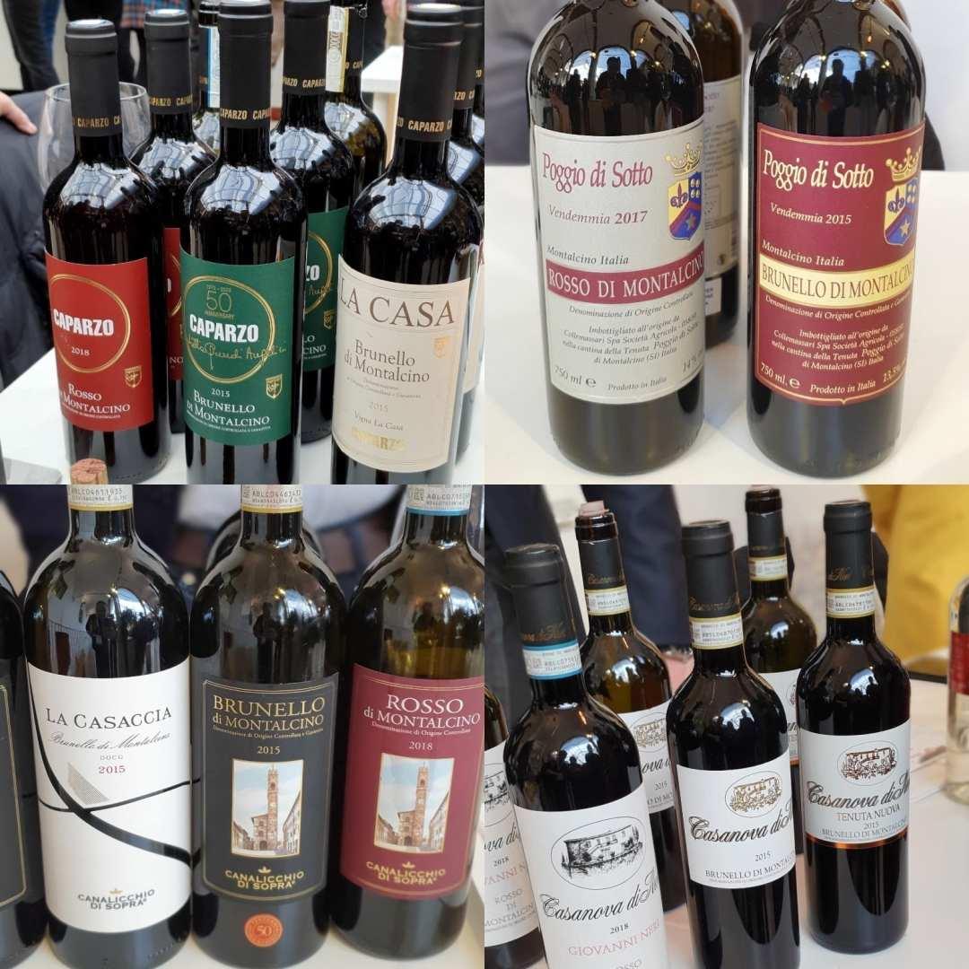 Altri ottimi assaggi dell'annata 2015 di Brunello di Montalcino a Benvenuto Brunello 2020