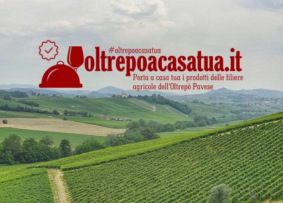 #Oltrepoacasatua: l'Oltrepò Pavese diventa solidale!