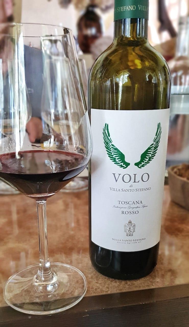 Volo è il nuovo vino di Villa Santo Stefano