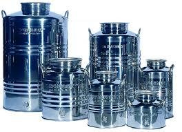 Nerezové nádoby a nádrže