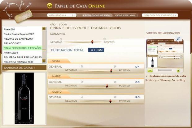 CATA PINNA FIDELIS ROBLE ESPAÑOL 2006