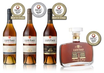 Lustau Brandies-IWSC 2011