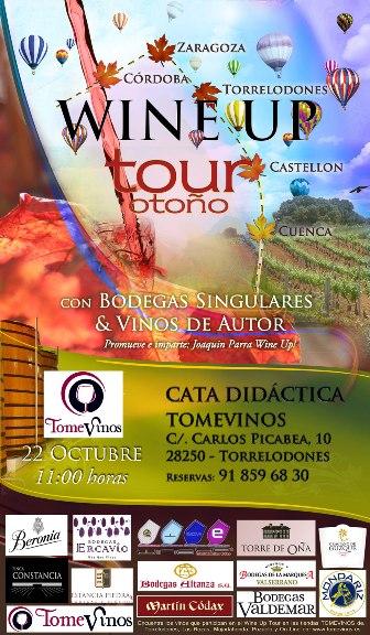 Wine Up Tour con Bodegas Singulares & Vinos de Autor