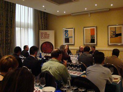 salón de vinos A.B.R.A. en Madrid