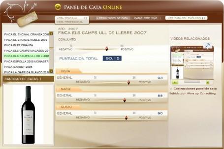 FINCA ELS CAMPS ULL DE LLEBRE 2007 - 90.15 PUNTOS EN WWW.ECATAS.COM POR JOAQUIN PARRA WINE UP