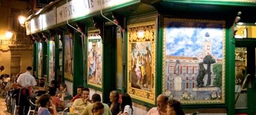 bares y tapas tipicas de Madrid y vino