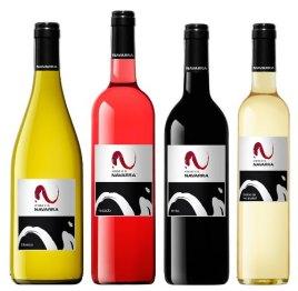 botellas vino navarra