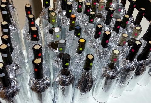 vinos preparados para la cata - copia