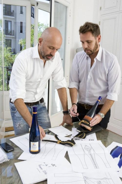 Álvaro Castejón y Arnaud Maillard dan los útimos retoques a su diseño para Mar de Frades