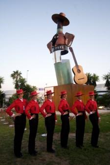 Escultura firmada por Chiqui Díaz