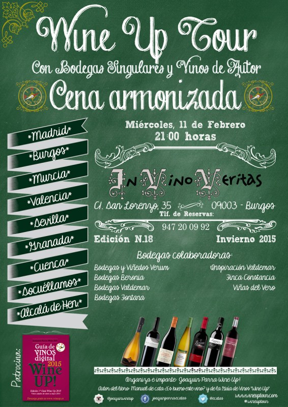 Wine Up Tour en Burgos