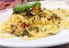 L'Eremo Tuscolano e gli Spaghetti di Gragnano alla Nerano