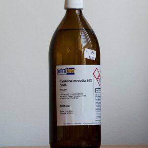 Kyselina mravčia 85% čistá, 1 L