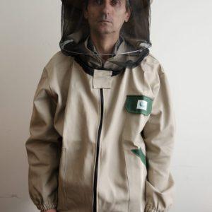 Včelárska bunda hrubá béžová