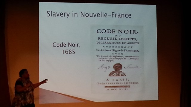 Montreal was a Slave Center