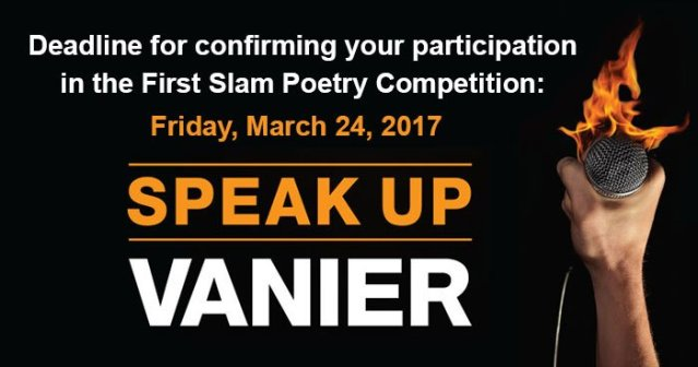 First intercollegiate slam poetry competition
