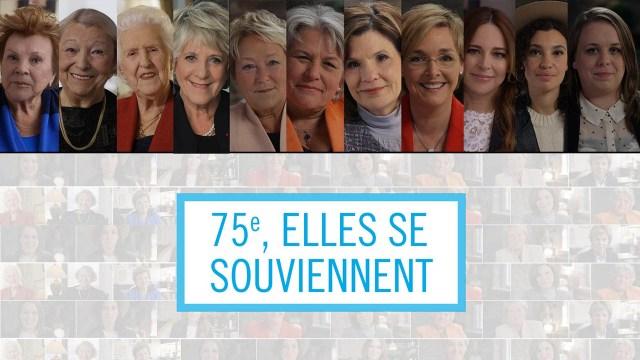 75e, elles se souviennent