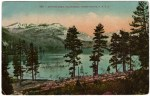 Vintage Donner Lake Postcard written by Patty Reed