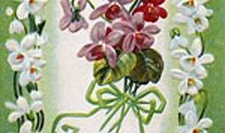 Easter Flowers Vintage Postcard