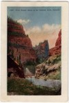 Vintage Colorado Postcard of the First Tunnel in Royal Gorge