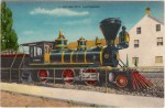 Old Tahoe Train Vintage Postcard