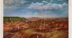 Arizona vintage postcard of the Painted Desert