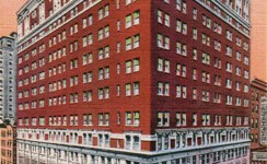 Vintage Postcard of The Roosevelt Hotel in Downtown Pittsburgh, PA