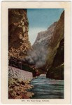 Royal Gorge Vintage Colorado Postcard