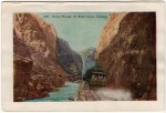 Royal Gorge Train Vintage Postcard