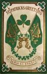St. Patrick's Day Vintage Postcard