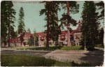 Lake Tahoe Tavern Vintage Postcard