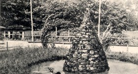 Vintage Postcard of The Narrows Park in Cumberland, Maryland