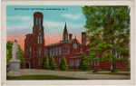 Vintage Postcard of The Smithsonian Institution