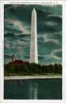 Washington Monument Vintage Postcard
